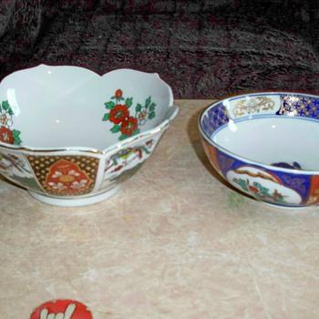 My Imari China Collection