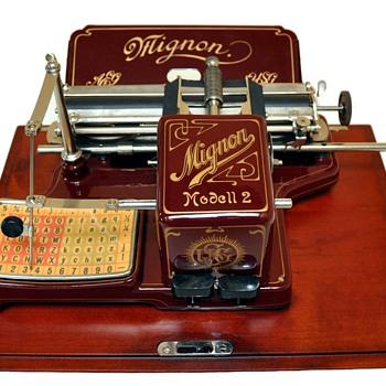 MIGNON Modell 2 - circa 1907 - Office