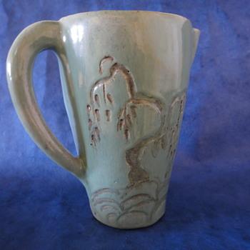 Interesting Art Pottery Pitcher - Pottery