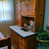 Farm House Kitchen /Out with the 70's & Back to the 20's /Hoosier Cabinet by McDougall /Circa 1920 & Maple Drop Leaf Table