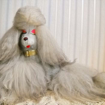 1971 Pussy Cat Toy Co. Fur Poodle - Animals