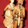 Antique Moritz Spitz  Austrian Cold Painted Bronze Couple (Signed)