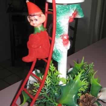Vintage Plastic Christmas decoration
