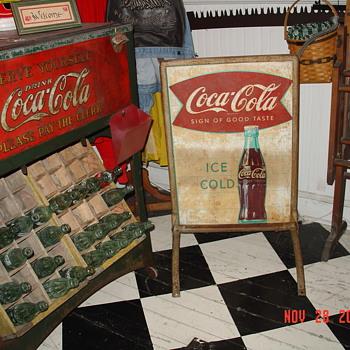 Coca-Cola Sidewalk Menu Board - Coca-Cola