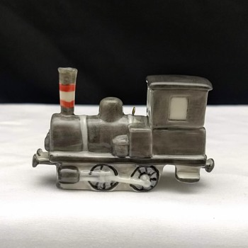 Royal Copenhagen Christmas Ornament Train Locomotive 2004 - Christmas