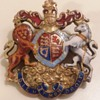 British coat of arms medallion  mystery