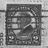 1923 2c 11 perf Harding