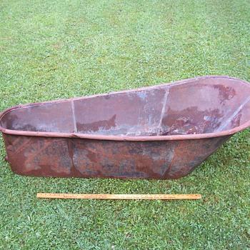 ANTIQUE-CIVIL WAR ERA? BATHTUB