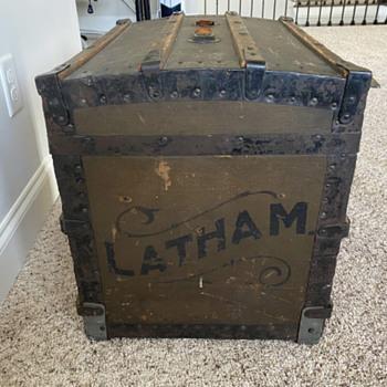 Latham Steamer Trunk.  - Furniture
