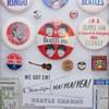 Beatles pins...