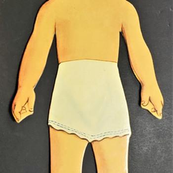 1953 Li'l Miss Designer Doll, Miss Magic Paper Doll Set BETTY - Dolls