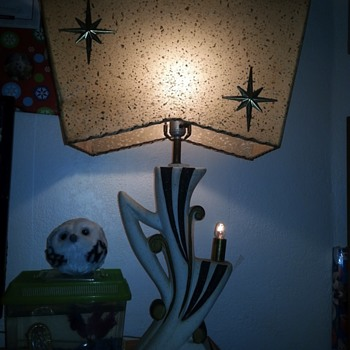 Awesome older lamps found in old garage - Mid-Century Modern