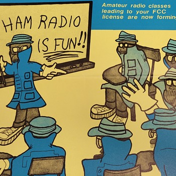 Ham Radio FCC License Poster  - Posters and Prints