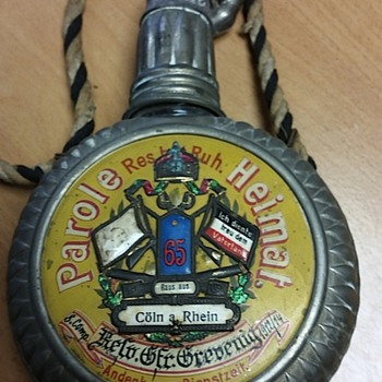 German flask/canteen - Military and Wartime
