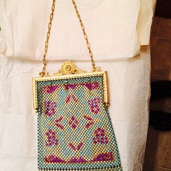 mesh bag that used to belong to my great great aunt  - Bags