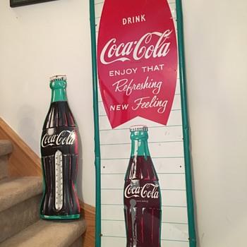 Coca-Cola Early '60's Fishtail - Coca-Cola