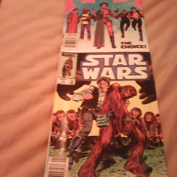 MY COMIC COLLECTION STAR WARS