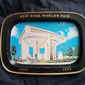1964 New York World's Fair Ashtray - Advertising