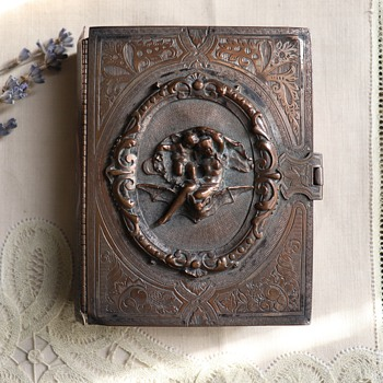 Antique trinket box. estate sale find. - Furniture