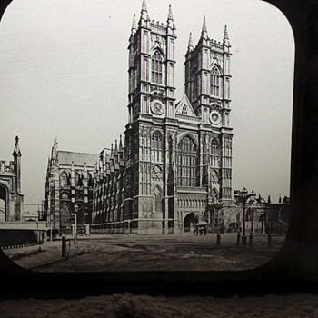 1800's Glass Photo Slide - Various Locations - Photographs