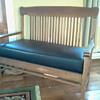 Mission Style Oak Bench