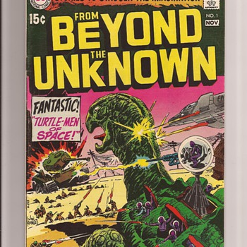 A favourite Joe Kubert sci fi issue - Comic Books