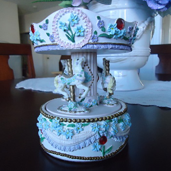 A CAROUSEL ....MADE IN CHINA..