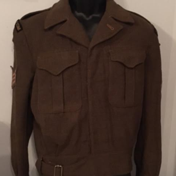 1950s Cameron Highlanders of Ottawa Sergeant's Battle Dress  - Military and Wartime