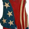 #3 ~ 1969 Woodstock Worn Suede Stars & Stripes Vest + #4