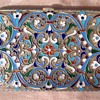 Russian Silver Gilt and Cloisonne Cigarette Case