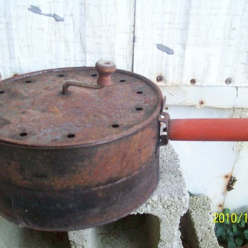 Old Popcorn Popper - Kitchen