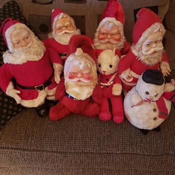 Vintage Santas! - Christmas