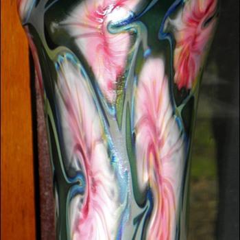 John Lotton Vase - Art Glass