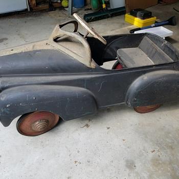 My vintage Pedal Car - Toys