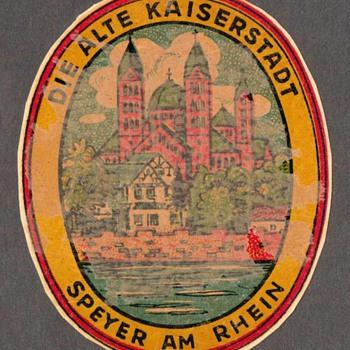 Travel Decal - Speyer on the Rhein (Germany)