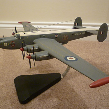 Wooden Avro Shackleton 120 Squadron - Military and Wartime