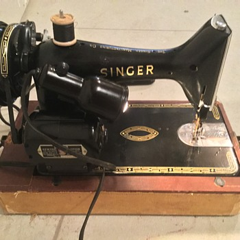 1954 singer 99k - Sewing