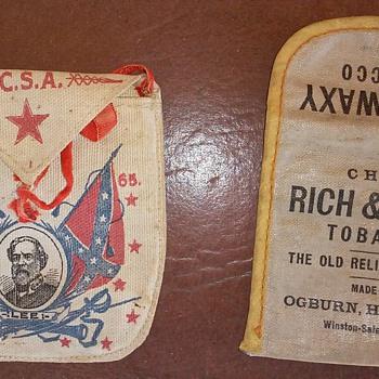 Old Tobacco Pouches  - Tobacciana