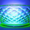 Imperial Glass Company - Diamond Quilt Pattern (Glows )
