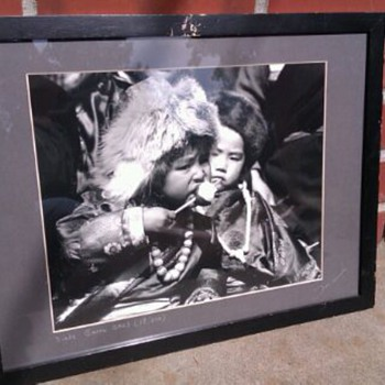 Black and White Photo signed and titled - Photographs