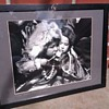Black and White Photo signed and titled
