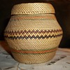 Native American Nootka Woven Basket.