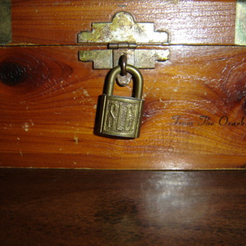 Grandpa's treasure chest - Furniture