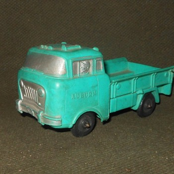 Auburn Rubber Flat Front Truck 1950s - Model Cars