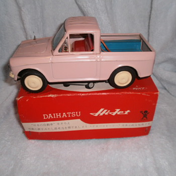 Daihatsu HiJet Pickup - Model Cars