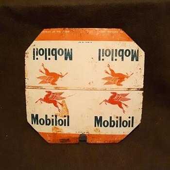 Mobil Oil of Canada Tin Lid Pegasus and All That - Petroliana