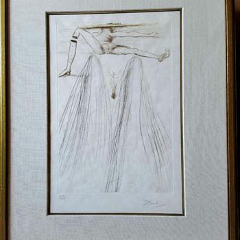 Salvador Dali print LE GÉANT BELIAGOG (THE GIANT BELIAGOG - Fine Art