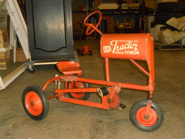 Your place vintage pedal tractors for