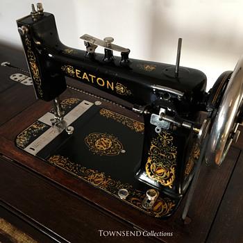 The T EATON Co Limited Winnipeg EATON Empire Treadle Sewing Unique Winnipeg Sewing Machine Ltd