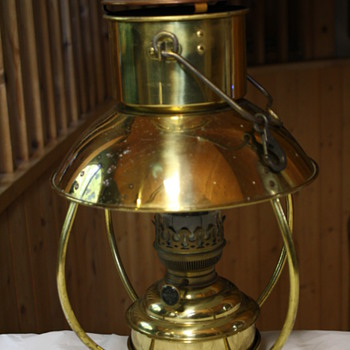 Den Haan Rotterdam Trawler Lamp